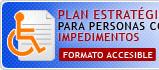 Plan Estratégico para personas con impedimentos - Formato Accesible