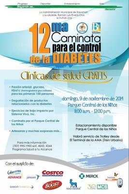 12ma Caminata para el control de la Diabetes