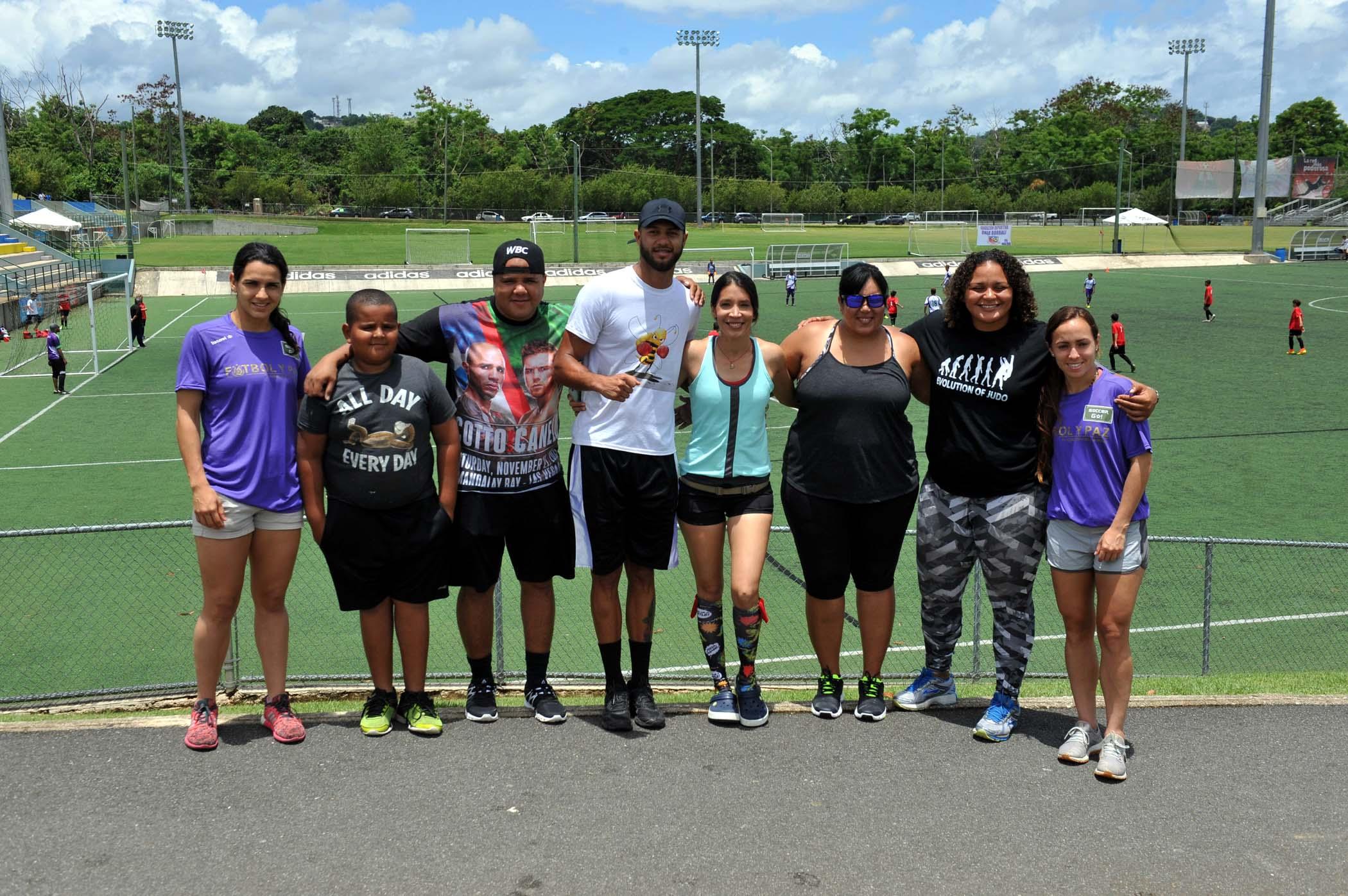 Grupo de participantes 2da Edición de la Copa de Paz
