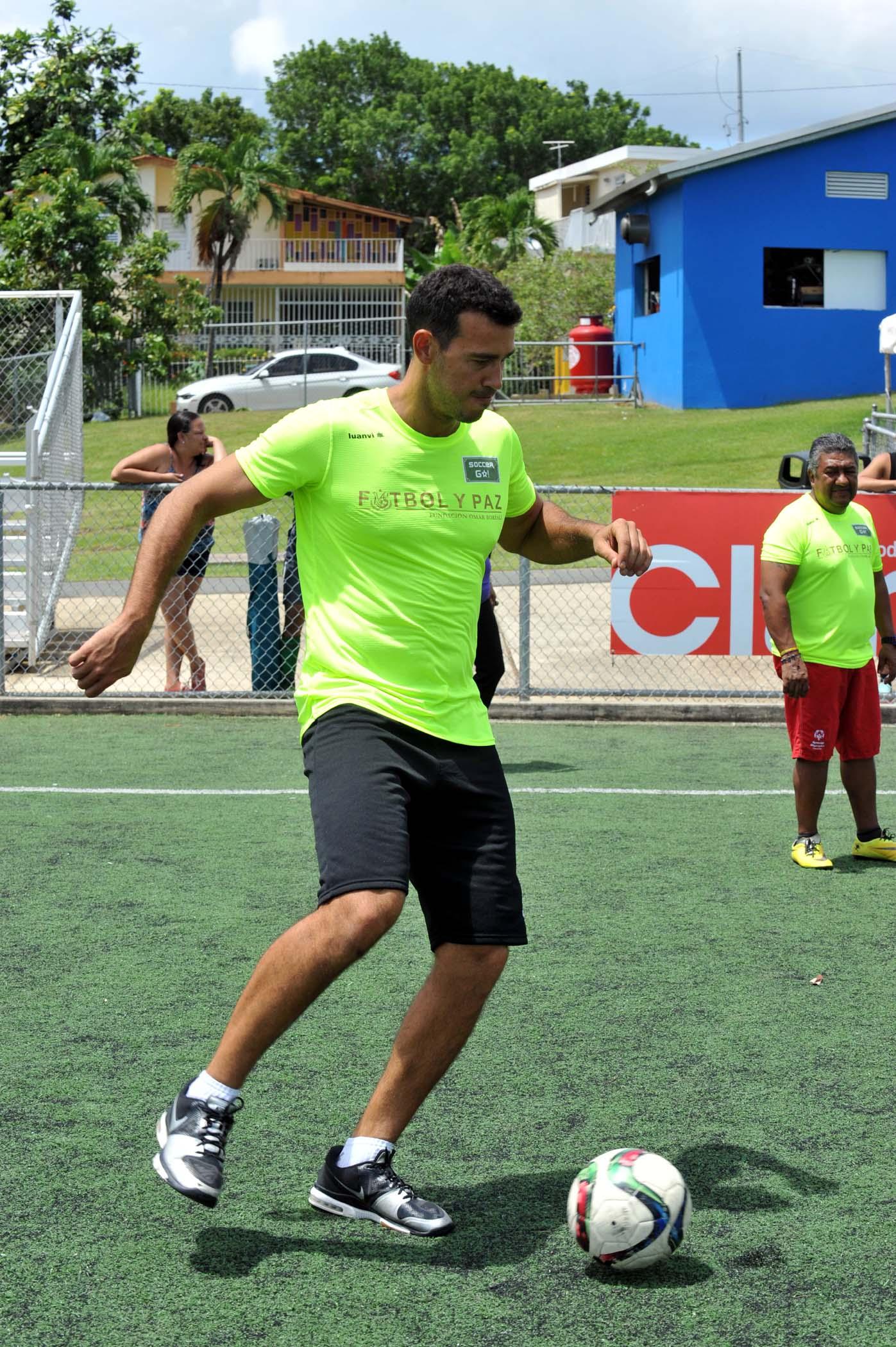 Jugador del equipo verde
