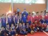 Equipo Campeon del Club Van Scoy junto a los sub campeones del Club D'Altura de la pasada edicion de la Copa Caribe