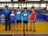 Cat Sub 15-Jabdiel Torres, Angel Naranjo, Adrian Cruz, Daniel Hernandez junto a Manuel Gomez presidente y entrenador del Club Bravos de Cidra