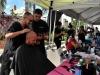 Servicio de barberia y estilismo a participantes