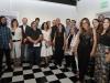 Artistas participantes de la exhibición