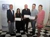 Alcalde y Primera Dama de Bayamón junto a los artistas premiados