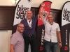 Jose Santiago, Julio Villanueva y Roberto Colon en la actividad de la Federacion en el Comite Olimpico