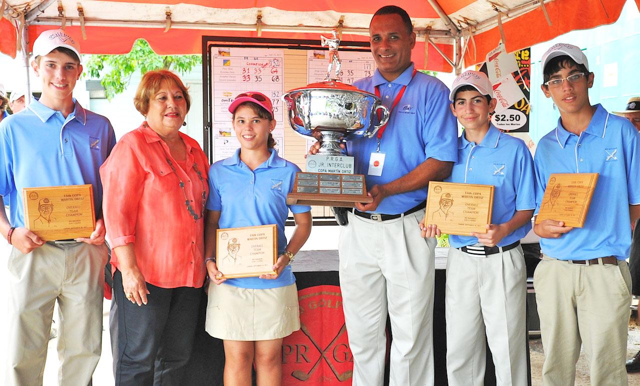 Equipo Ganador: Río Bayamon Fico Thon, Doña Migdalia Ortíz, Kristina Ortíz, Carlos Crespo, Josaphet Duran y Jayson González