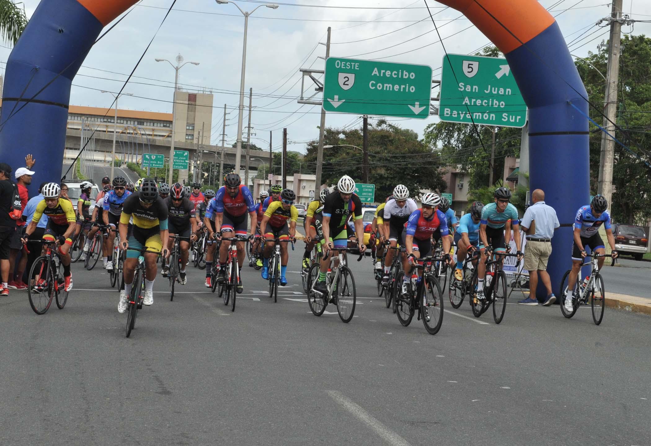 Carrera Grand Prix Ciclistas - categoria 40-49