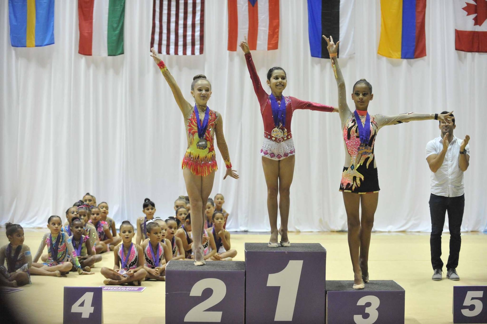 Niñas participantes: 1ro, 2do y 3er Lugar