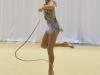 Niña participando en el Caribbean Star Rhytmic Gymnastics Invitational