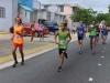 Atletas participando en la carrera