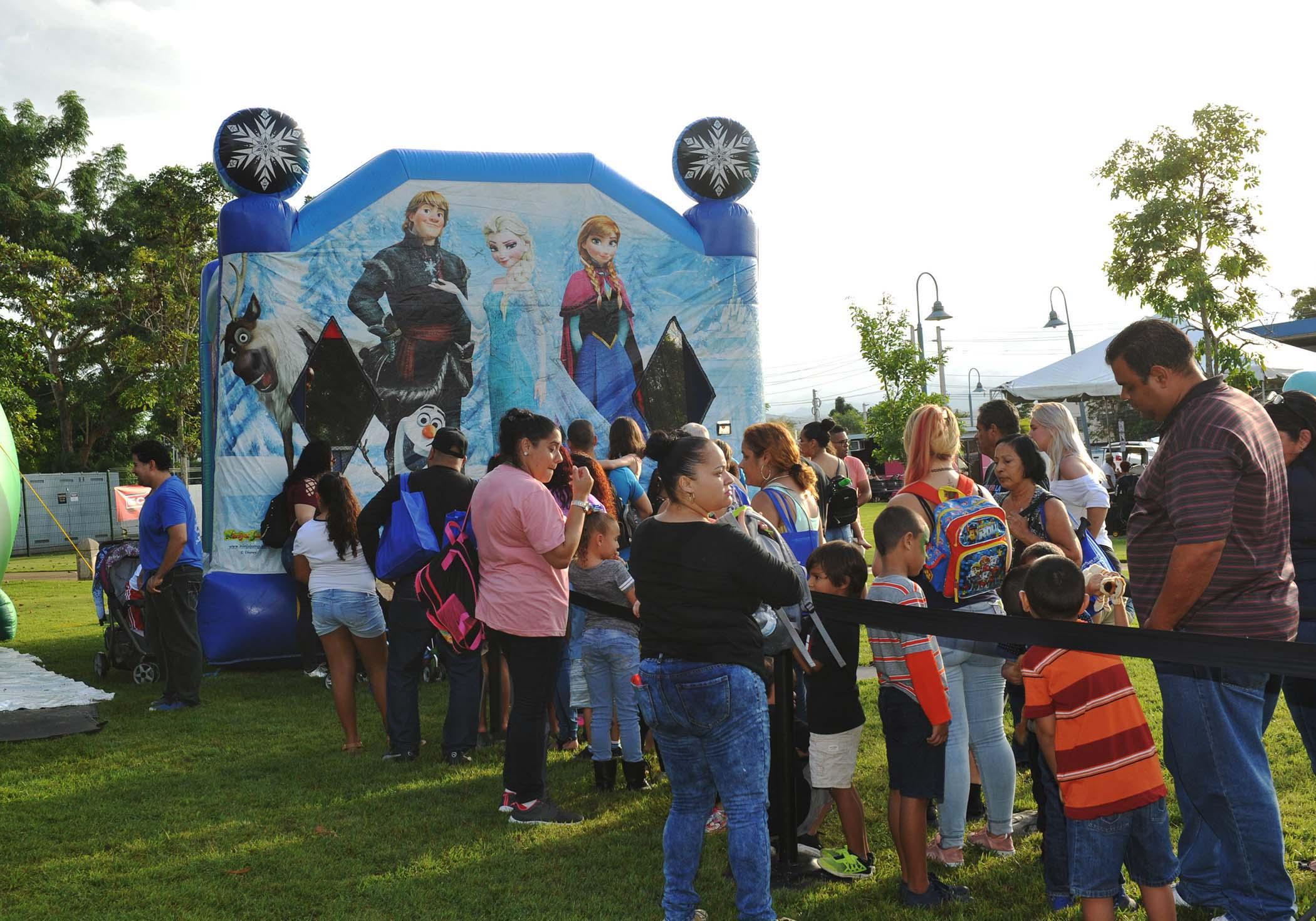 Juegos inflables para niños