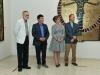 Lope Max Díaz & Arnaldo Roche Rabell junto a la Primera Dama y el Alcalde