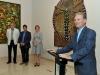 alcalde Ramón Luis Rivera dirigiendo unas palabras ante el público presente