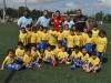 David Villa junto a equipo 5 años