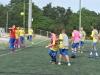 David Villa junto a jugadores