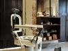 Silla de barbero antigua