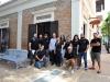 Emilio Meléndez y Vanessa Cardez y sus empleados junto al alcalde de Bayamón