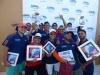 Ganadores del seccional con sus premios