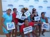 Participantes del Seccional mostrando sus premios