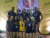 Jugadoras de volleyball vaqueras