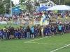 Inauguracion Bayamon Soccer Complex equipos en el campo