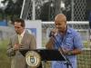 Michael Stuart en la Inauguracion Bayamon Soccer Complex