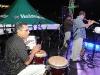 Banda de jazz en la actividad
