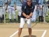 Edwin Nieves Del Valle haciendo su lanzamiento