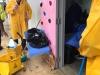 Recogido y limpieza en Escuela José Antonio Dávila