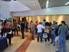 Nuevo personal de Selectos recibiendo orientacion en el lobby del Teatro Braulio Castillo