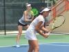 Sofia Rojas y Sasha Wood del equipo de USA