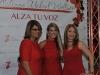 Mujeres vestidas de rojo