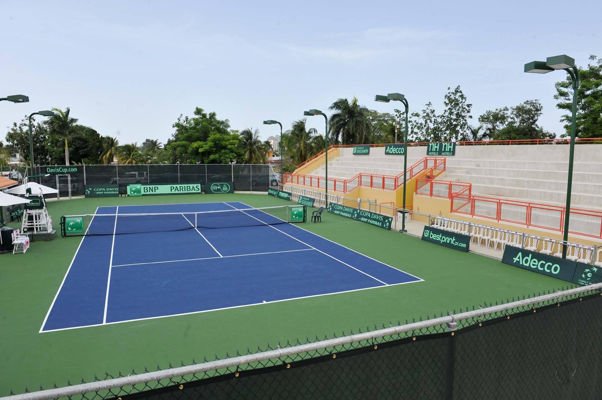 Reinauguración Facilidades Centro de Tenis Honda: Cancha
