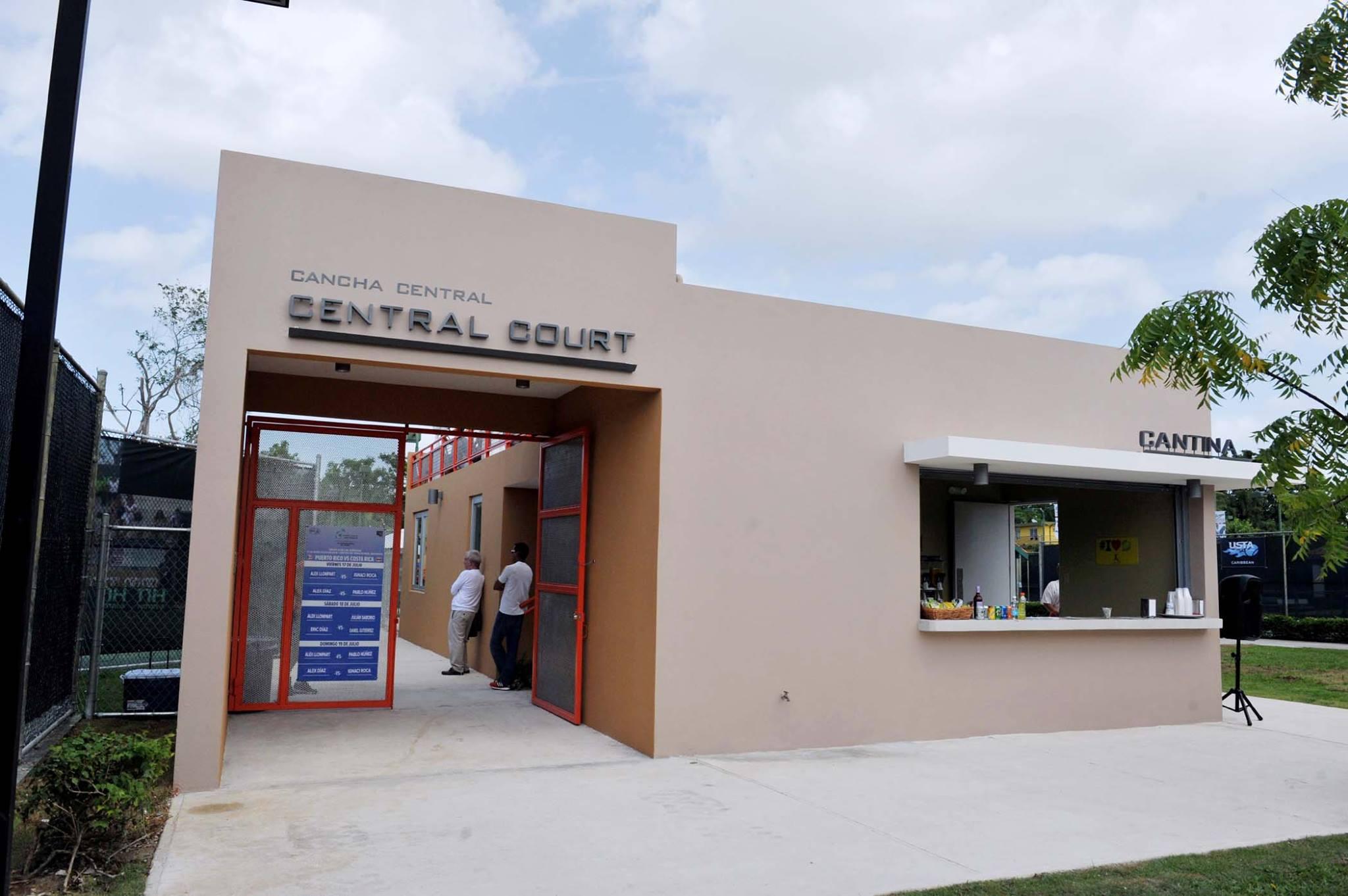 Reinauguración Facilidades Centro de Tenis Honda: Cantina