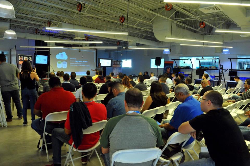 Participantes del SQL Saturday
