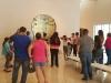 Recorrido en el museo junto a participantes del taller