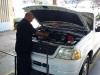 Cambio de aceite y filtro de vehículo oficial