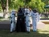 """Grupo de Animación """"Actívate"""" y personajes de Star Wars y Astronauta"""