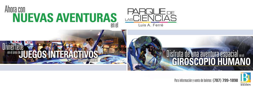 Apertura del Parque de las Ciencias: 10 de enero de 2016