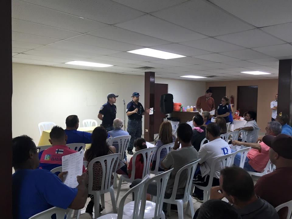 Presidentes y Representantes de Clubes Deportivos de Bayamón se Reunen para Discutir Diversos Temas