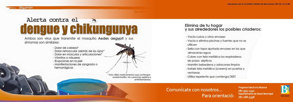 Alerta Contra el Dengue y Chikungunya