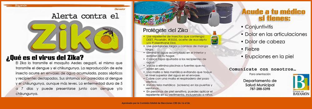 Alerta Contra el Zika