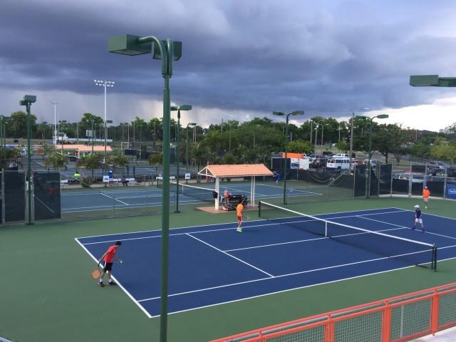 Cancha Centro de Tenis Honda