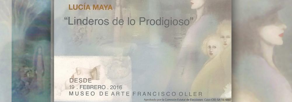 """Exposición: """"Linderos de los Prodigioso"""" de Lucía Maya en el Museo de Arte Francisco Oller desde el 19 de febrero de 2016."""
