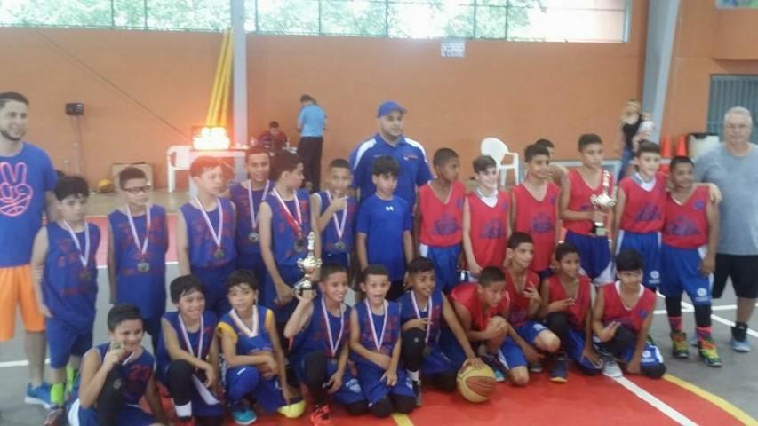 Equipos de Bayamón categoría 11 años