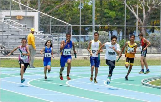 Competencia Atletismo