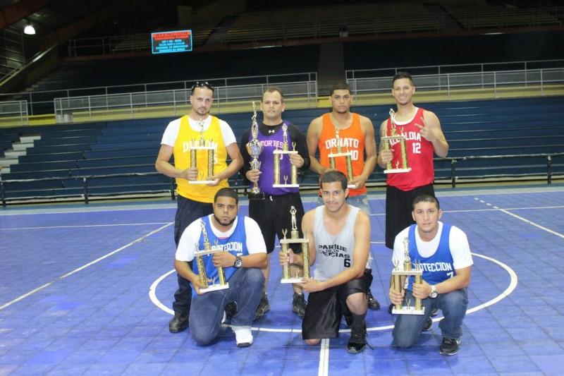 Premiación Valores Jugadores Torneo Interagencial
