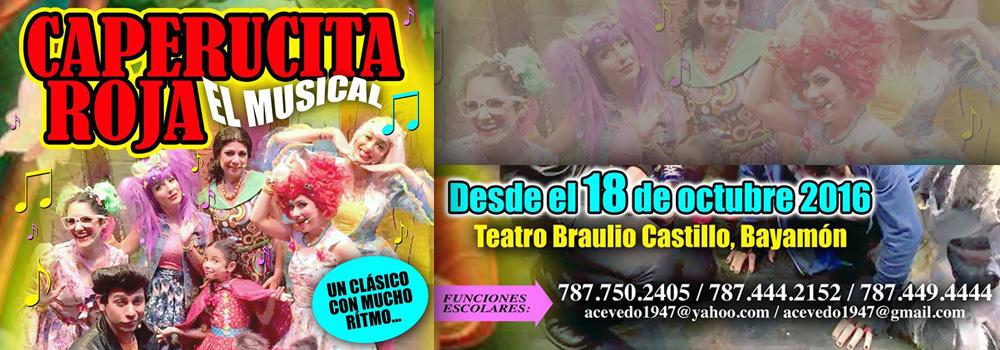 Caperucita Roja en el Teatro Braulio Castillo desde el 18 de octubre de 2016