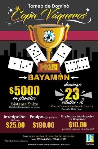 Promoción Copa Vaqueros 23 octubre 2016